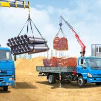 Доставка стройматериалов и комплектующих нашими силами