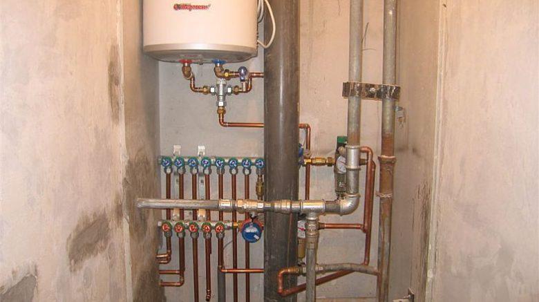 Монтаж водоснабжения внутренних сетей в Красноярске.