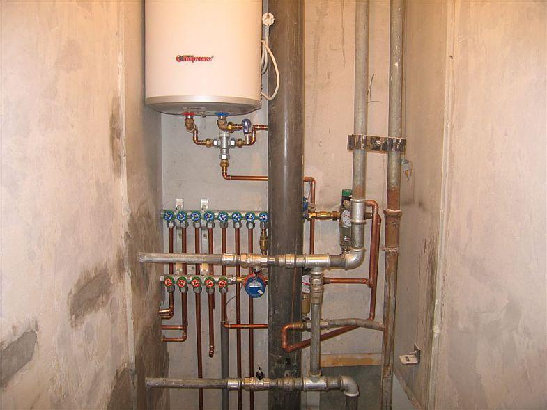 Монтаж водоснабжения внутренних сетей