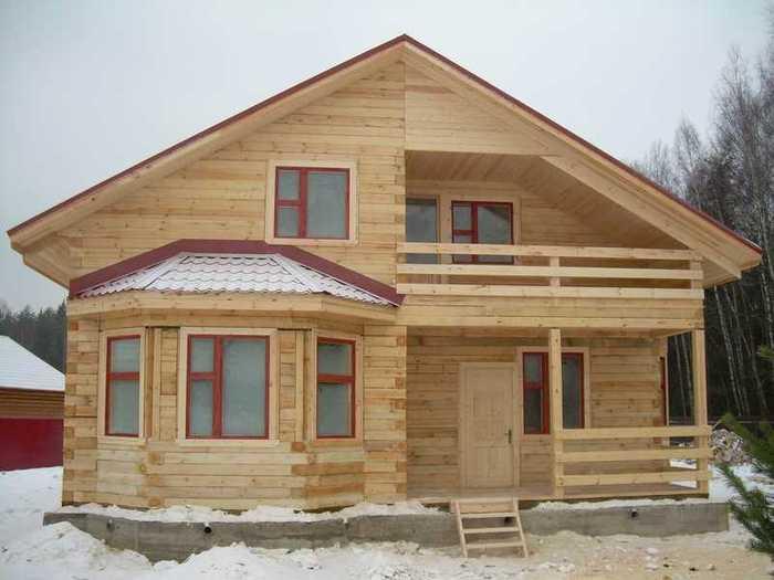 Строительство из бруса в Красноярске